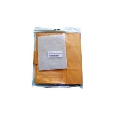 Bolsa de aspirador compatible con aspirador Panasonic MC8110/8130, MCE81/95 C1. Se vende en pack de 5 bolsas.