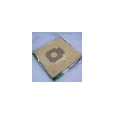 Saco coletor de sujeira descartável compatível com aspirador Solac 922-926. Vende-se em Kit de 5 sacos