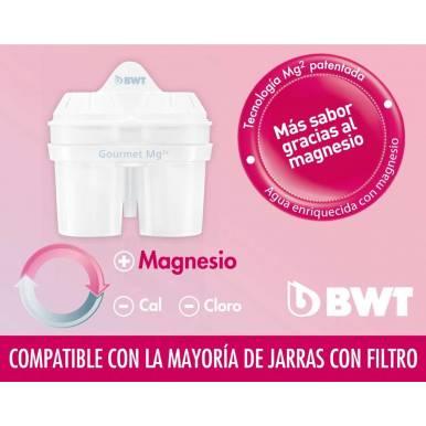 Filtro jarra depuradora compatible BWT MG+2