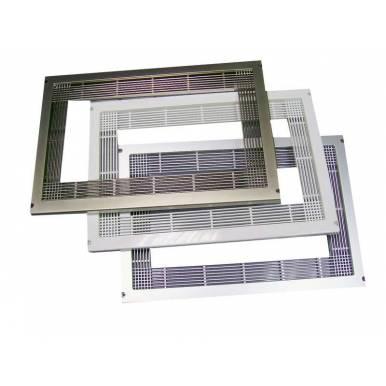 Kit  marco encastre universal para horno microondas Color Negro