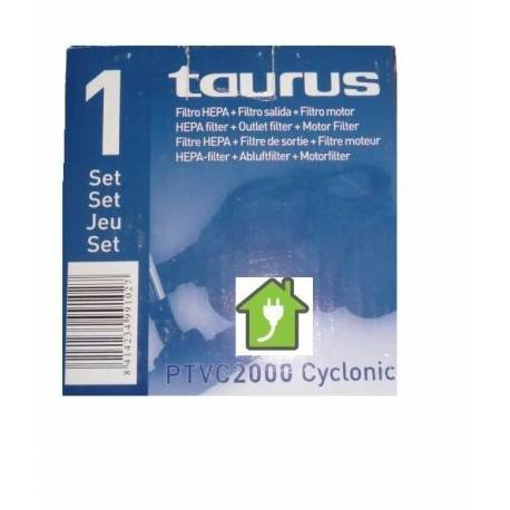 Filtro aspirador Taurus PTVC Cyclonic 2000