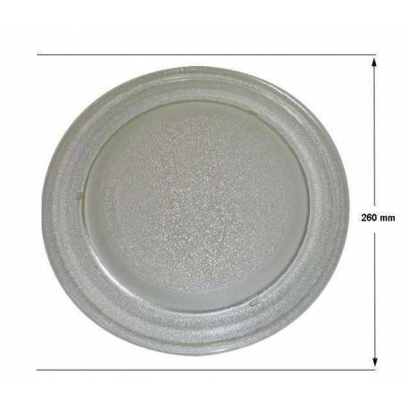 Plato de microondas LG 260 mm diámetro