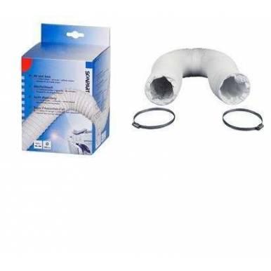 Tubo salida aire secadora 3m / 100mm + bridas