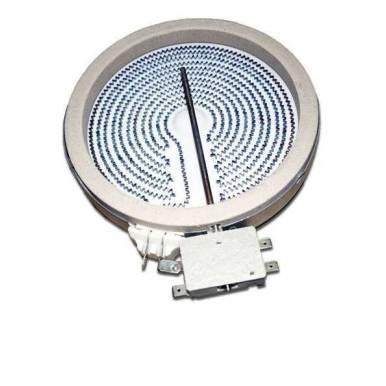 Placa encimera Vitroceramica Universal 1200W 165 mm diametro