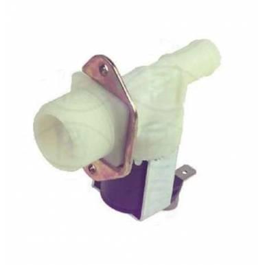 Electroválvula para Lavadora / Lavavajillas 1 Vía, Brida Vertical, salida 180º