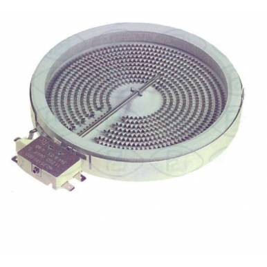 Placa encimera Vitroceramica Universal 1500W 180 mm diametro