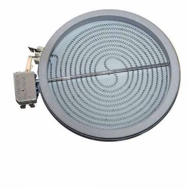 Placa encimera Vitroceramica Universal 1800W 200 mm diametro