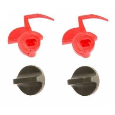 Set de 2 Cierre Campana Extractora BALAY 3BF745X-04, BOSCH DHL555K-04, LG DHL755K-04, NEFF D5853X0-03