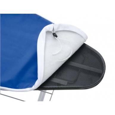 Funda tabla plancha Universal , estira y aspira de Polti, 120x45 cm con muletón, se puede lavar en la lavadora
