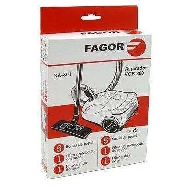 Bolsa  OIGINAL aspirador  Filtro Fagor VCE-300 / 303