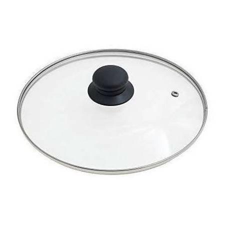 Tapa de Cristal Universal diametro 28 cm para bateria de cocina y sarten