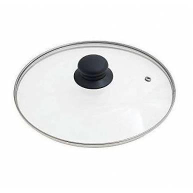 Tapa Cristal diametro 20 cm para bateria de cocina, sarten