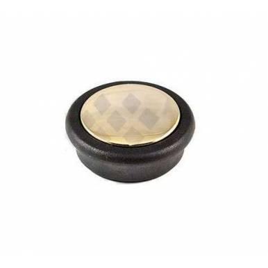 Pomo para bateria de cocina Alza modelos KUCHE ELEGANCE (color oro)