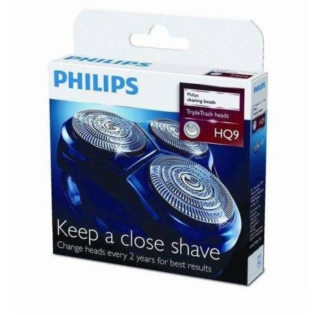 Cabeças originais de barbear Philips HQ-9
