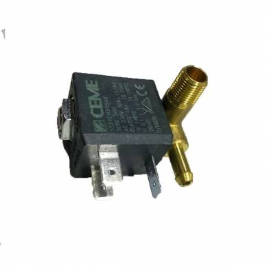 Electrovalvula tipo FOGGACI 90GR.SX ATT 1/8 4W con salida derecha