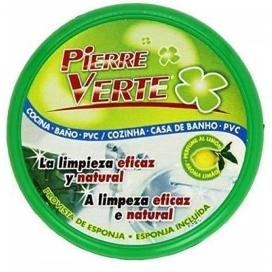 Arcilla Blanca Original Pierre Verte Piedra Limpiadora Pulidora para Metales y superficies