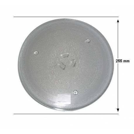 Prato microondas Samsung / Balay 255 mm diâmetro
