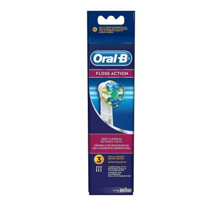 Braun Oral B FLOSS ACTION  Pack de 3 Cabezal