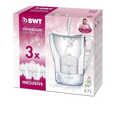 Oferta Pack Jarra depuradora agua BWT Vida 2,6 L  3 Filtros