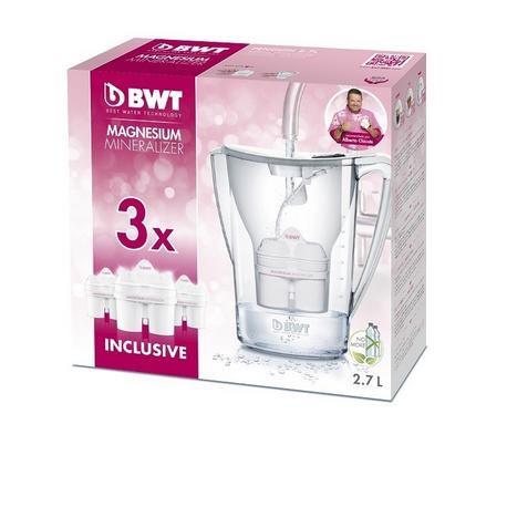 Oferta Pack Jarra depuradora agua BWT Vida 2,6 L + 3 Filtros