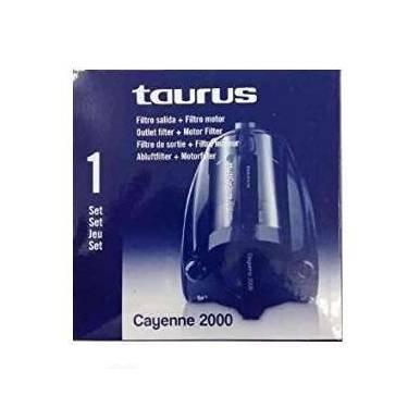 Set de filtros aspirador Taurus Cayenne 2000