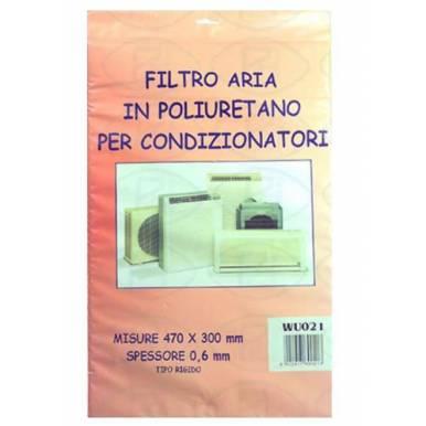 Filtro de Poliuretano Rígido para Aire Acondicionado 470 x 300 x 5 mm