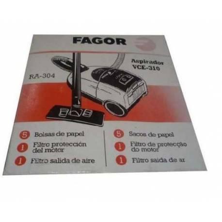 Bolsa adaptable de aspirador Fagor VCE-310