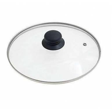 Tapa de Cristal Universal diametro 30 cm para bateria de cocina y sarten