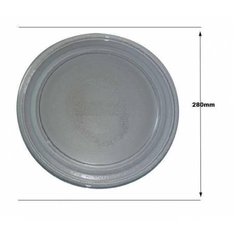 Prato microondas Moulinex 280 mm diâmetro