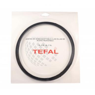 Junta tapa ORIGINAL olla Tefal modelo Óptima / Sensor 4.5l, 6l y 7l