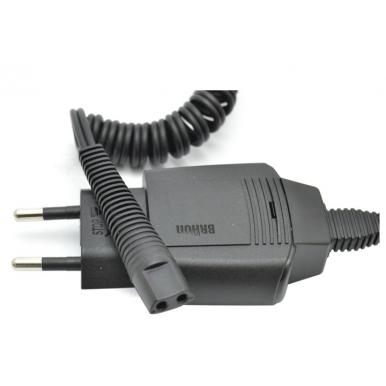 Cable de alimentación Cargador Afeitadora Braun Serie 5, Contour Pro