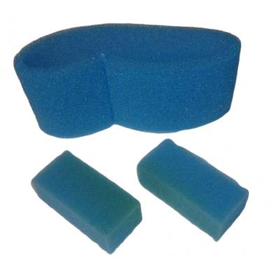 Conjunto de Filtros de Espuma Azul para LECOLOGICO POLTI AS800 y otros modelos