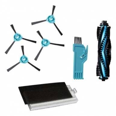 Conjunto Filtros y Cepillo Lateral Robot Aspirador CECOTEC Conga 990 y 1190