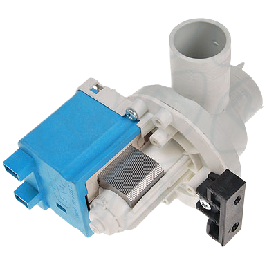 Bomba de desague para lavadora y lavavajillas Generica 34W, tubo 35 y 30 mm