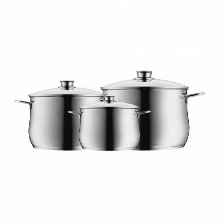 Set Batería de Cocina DIADEM PLUS de 3 piezas