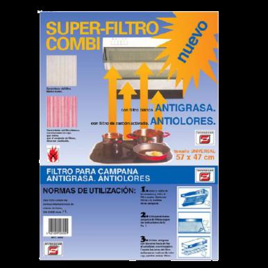 Filtro Campana Combi Antigrasa - Antiolores